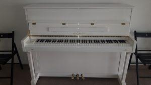 Pianina Acustica alba Perzina