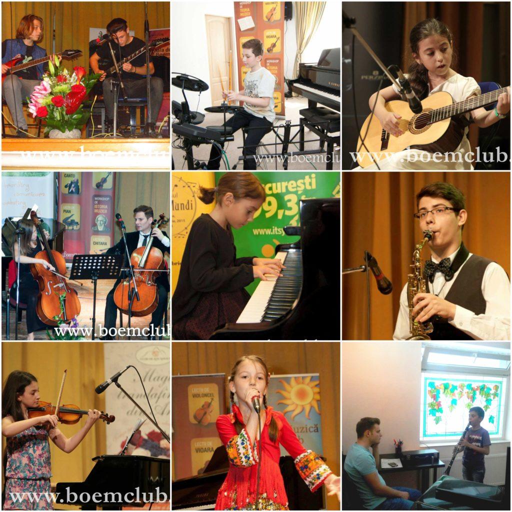 lectii de pian, lectii de chitara, lectii de canto, lectii de vioara, lectii de violoncel, lectii de saxofon, lectii de tobe, lectii de clarinet
