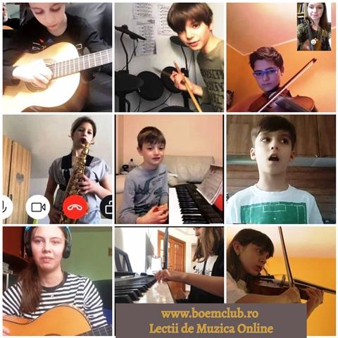 lectii de muzica on line pentru toate varste;e: cursuri de tobe, cursuri de pian, cursuri de vioara, cursuri de canto, cursuri de saxofon
